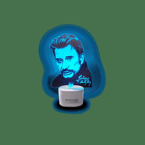Jouw favoriete ster in een 3D-lamp!