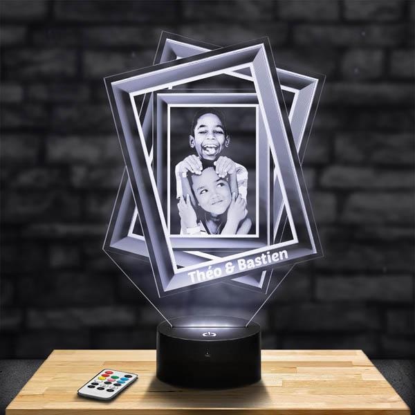 Customised Lamp 3 frames