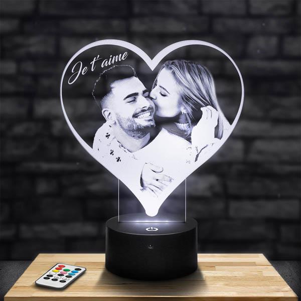 Customised Heart Lamp