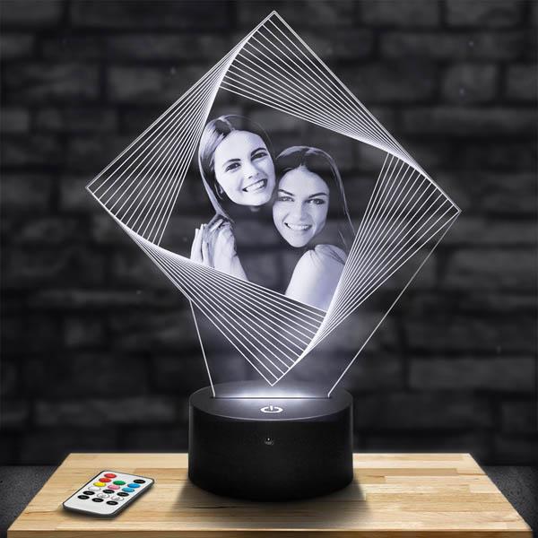 Customised Diamond Illusion Lamp