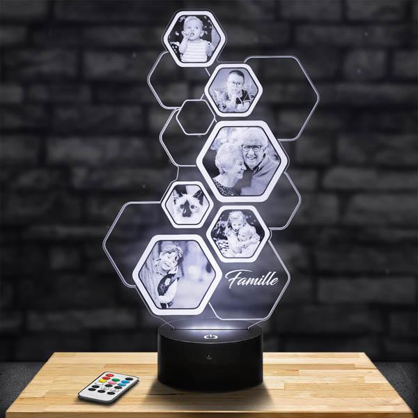 Customised Honeycomb Lamp 6 Photos