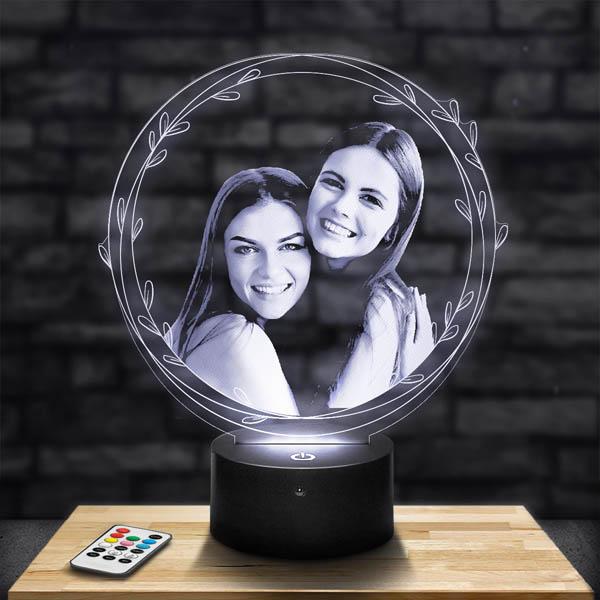 Customised Round Ornaments Lamp