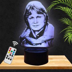 lampe 3D claude francois pictyourlamp.com