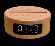 Top of the Range 7 colours Bluetooth Speaker / Alarm Clock base (38€)