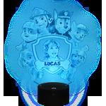 Gepersonaliseerde nachtlichter für kinder