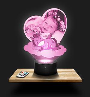 Luz nocturna personalizadas para niños
